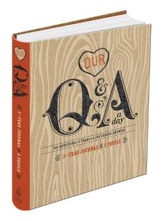 Our Q&A a Day: 3-Year Journal for 2 People by Potter Style https://www.amazon.com/dp/0770436684/ref=cm_sw_r_pi_dp_x_XC9vyb7AENJWE