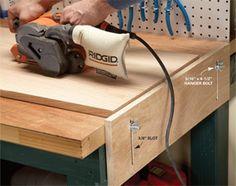 DIY Workbench Upgrades - bench stop   The Family Handyman