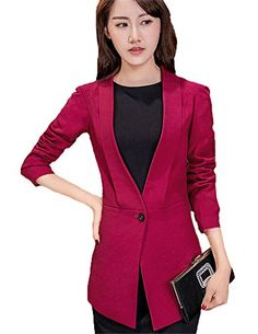 My Wonderful World Women's One Button Casual Lady Blazer Suit Small Wine Red My Wonderful World Blazer Coat Jacket http://www.amazon.com/dp/B018QPR97M/ref=cm_sw_r_pi_dp_Zkrxwb0WHC49G