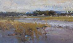 """Wetland by Simon Addyman Oil ~ 14"""" x 20"""""""