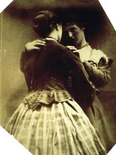 Isabella Grace ans Clementina Hawarden (1865) | Flickr - Photo Sharing!