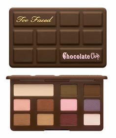 """too Faced Cosmetic's """"Chocolate Chip"""" all matte palette was available for a limited time on Black Friday. i was able to snag one! the too faced site will restock them by 12/15/2016 as said on their website. this same day they said the Sweet Peach palette will be released again as well, we shall see."""