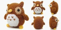 i crochet things: Free Pattern Friday: Mini Owl Amigurumi