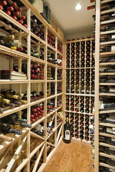 ótima Ideia de Adega Home Wine Cellars, Cellar Ideas, Build Your Own, Wine Rack, Future, Building, Room, Inspiration, Home Decor