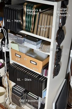 Crafting ideas from Sizzix UK: Storage ideas for Sizzix products