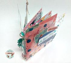 Mini álbum con tapas de acetato