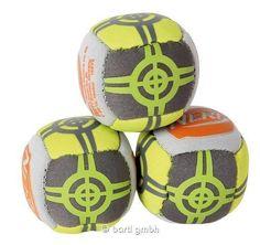 NERF Neopren Mini-Ball-Set 3 Neopren-Bälle mit Beanbag-Füllung im Set 111233