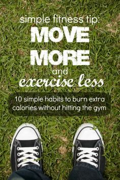 Move More, Exercise