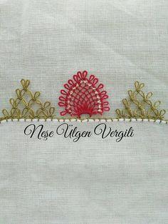 İğne oyası mutfak havlusu yapılışı #crochet #örgü #needle #iğneoyası #iğneoyaları #yazma #elisi