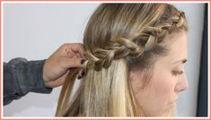 Try this fun dutch crown braid by Poise & Purpose! Messy Braids, Braids For Short Hair, Crown Braids, Braid Front Of Hair, Head Braid, Top Braid, Bump Hairstyles, Braided Hairstyles Tutorials