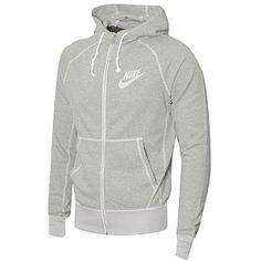 NEW Mens Authentic Nike Vintage Style Hoody Jacket
