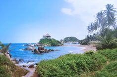 Parque Tayrona, Colombia. Colombia South America, Mountains, Water, Outdoor Decor, Travel, Hotels, Places To Visit, Parks, Pictures