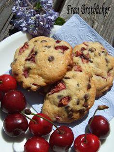 Frau Brotbäcker: Schwarzwälder-Kirsch-Kekse
