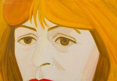 Alex Katz, (American, b. 1927), Portrait of Elaine de Kooning, 1965  |  Modern and Contemporary Art  |  December 11, 2014