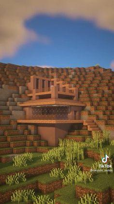 Simple Minecraft Houses, Minecraft Modern Mansion, Minecraft Amazing Builds, Minecraft House Plans, Minecraft House Tutorials, Minecraft Room, Minecraft House Designs, Minecraft Blueprints, Minecraft Creations