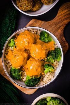 Pulpety wegetariańskie w sosie curry