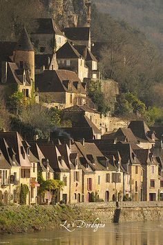 La Roque Gageac, Dordogne, France. Un des plus Beaux Villages de France
