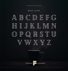 6 Free Fonts That Designers Will Love #17 - UltraLinx