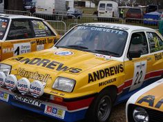 VAUXHALL CHEVETTE 2300 HS 1981 (1981)  | Andrews Vauxhall Chevette Rally Car 2 Flickr Photo Sharing
