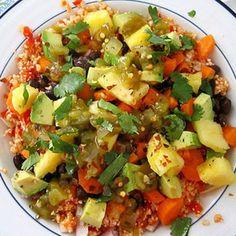 "Mexican Cauliflower ""Rice"" Bowl - Fitnessmagazine.com"
