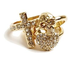 GOLD STACK RING PACK Item code:3604686 Price:R 55.00 Colour:gold