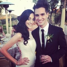Brendon and Sarah Urie - These are pretty people.