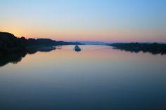 The Blue Danube near Tulln - Austria