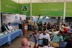 """قال ممثلون عن مؤسسات حكومية فلسطينية وأخرى أهلية محلية ودولية، إن الوضع المائي في قطاع غزة """"كارثي""""؛ حيث وصلت نسبة التلوّث فيه حوالي 98%"""