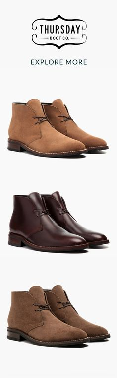 Explore Chukka and other styles at Thursday Boot Company. 3,000+ 5-Star Reviews · Easy & Secure Checkout · Free Shipping & Returns