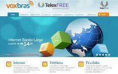 A união da empresa telexfree e a empresa telefonica voxbras.    http://corpogigante.webnode.com/telexfree-voxbras/  Telexfree/voxbras :: Corpogigante