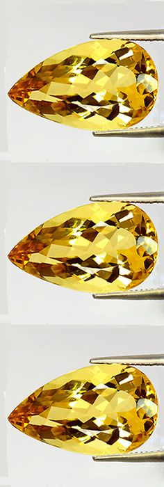 Beryl 110789: 4.18Cts Own A Museum Grade Gem - Rich Natural Heliodor - Yellow Beryl Aquamarine -> BUY IT NOW ONLY: $399.88 on eBay!