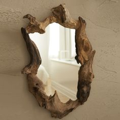 Tozai Wooden Root Mirror |