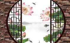 Image result for Chinese Gardens window