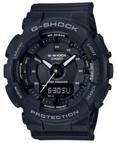 G-Shock Women's Analog-Digtal Black Resin Strap Watch 50mm - Black