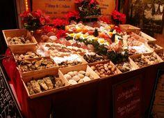 Fish Market in Brussels, Belgium