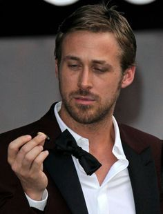 Ryan Gosling. Noah from the notebook in a tux.