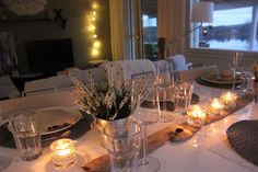 Pikkujoulut Table Settings, Table Decorations, Furniture, Home Decor, Decoration Home, Room Decor, Place Settings, Home Furnishings, Home Interior Design