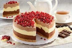 Czekoladowy puch przepis – Zobacz na przepisy.pl Tiramisu, Cheesecake, Ethnic Recipes, Food, Meal, Cheese Cakes, Eten, Cheesecakes, Meals