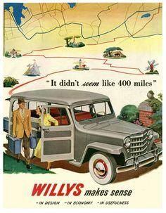 Willys advertising