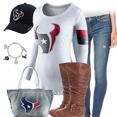 Cute Houston Texans Outfit