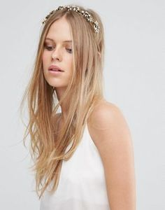Love Rocks Pearl & Leaf Headband