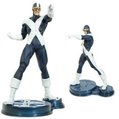 Cyclops X Factor Statue - Exclusive by Bowen Designs. $248.95. Edition Size: 328. This statue stands over 12 inches tall. Painted and ready to display.. A Bowen Designs Sculpt!. Comes in its own full color collectors box.. Sculpted by: Khurram Alavi (digital sculptor). Sculpted by: Khurram Alavi (digital sculpture).