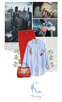 it was you. by eve-angermayer on Polyvore featuring polyvore fashion style Citizens of Humanity Dolce&Gabbana clothing