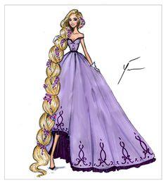 Disney Princesses 'Rapunzel' by Yigit Ozcakmak
