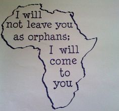 If I ever get a tattoo - it will be for my beautiful kiddos in Africa :)