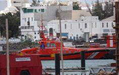 De salvamar al nair in de haven van Arrecife