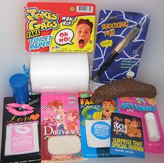 COLLEGE DORM PRANK KIT..... It's Back To School……… What a way to introduce yourself to your new roommates but with our College Dorm Prank Kit. It's got everything you need to get the party started. www.theonestopfunshop.com