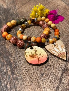 Excited to share this item from my #etsy shop: Harvest Moon Bracelet. Womens Bracelet, Men's Bracelet. Gift. Boho Chic. Stacked Bracelets. Moon Jewelry #yellow #luck #brown #unisexadults #bohohippie #summerjewelry #pendantbracelets #harvestmoonjewelry #moonjewelry Bracelet Men, Heart Bracelet, Bracelets For Men, Beaded Bracelets, Bee On Flower, Harvest Moon, Moon Jewelry, Summer Jewelry, Bohemian Jewelry
