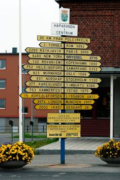 Awesome sign up in the north part of Sweden