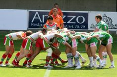 Rugby league scrums are useless.
